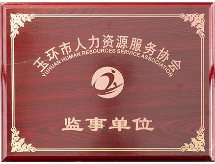 玉环市人力资源服务协会监事单位